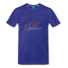Load image into Gallery viewer, Men's Stay Wild T-Shirt - royal blue