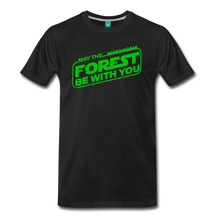 Load image into Gallery viewer, Men's May the Forest be with You T-Shirt - black