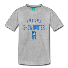 Load image into Gallery viewer, Toddler Future Show Hunter T-Shirt - heather gray