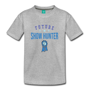 Toddler Future Show Hunter T-Shirt - heather gray