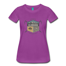 Load image into Gallery viewer, Women's Climbing T-Shirt - light purple