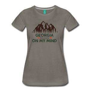 Women's Georgia on my Mind T-Shirt - asphalt