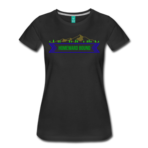Women's Homeward Bound T-Shirt - black