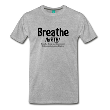 Load image into Gallery viewer, Men's Breathe T-Shirt - heather gray