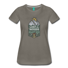 Load image into Gallery viewer, Women's Lost T-Shirt - asphalt