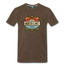 Load image into Gallery viewer, Men's North Lake T-Shirt - noble brown