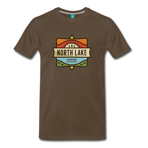 Men's North Lake T-Shirt - noble brown