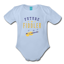 Load image into Gallery viewer, Future Fiddler Baby Bodysuit - sky