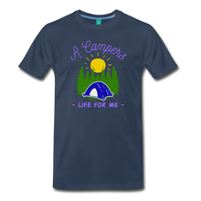 Load image into Gallery viewer, Men's Campers Life T-Shirt - navy