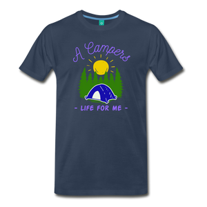 Men's Campers Life T-Shirt - navy