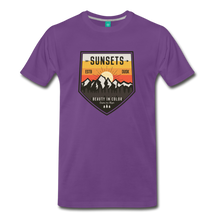 Load image into Gallery viewer, Men's Sunset T-Shirt - purple