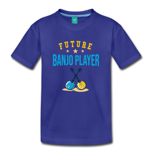 Load image into Gallery viewer, Toddler Future Banjo Player T-Shirt - royal blue