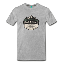 Load image into Gallery viewer, Men's Kayaking T-Shirt - heather gray