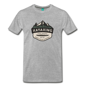 Men's Kayaking T-Shirt - heather gray