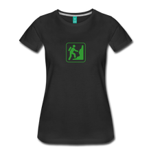 Load image into Gallery viewer, Women's Climb Icon T-Shirt - black