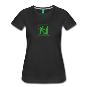 Women's Climb Icon T-Shirt - black