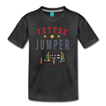 Load image into Gallery viewer, Kids' Future Jumper T-Shirt - charcoal gray