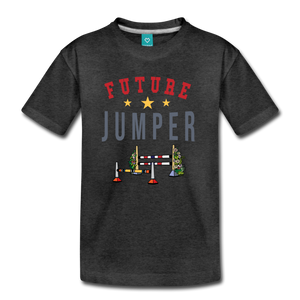Kids' Future Jumper T-Shirt - charcoal gray