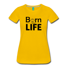 Load image into Gallery viewer, Women's Barn Life T-Shirt - sun yellow