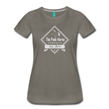 Load image into Gallery viewer, Women's The Peak Horse Diamond T-Shirt - asphalt