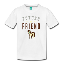 Load image into Gallery viewer, Kids' Future Friend T-Shirt - white