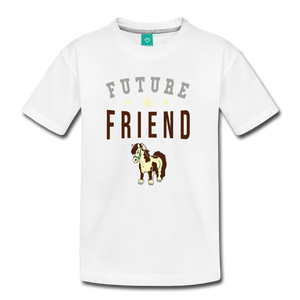 Kids' Future Friend T-Shirt - white