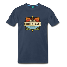Load image into Gallery viewer, Men's North Lake T-Shirt - navy