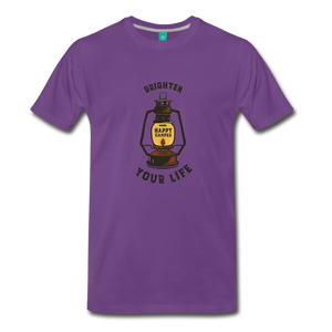 Men's Lantern T-Shirt - purple