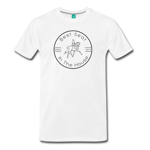 Men's Best Seat in the House T-Shirt - white