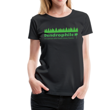 Load image into Gallery viewer, Women's Dendrophile T-Shirt - black