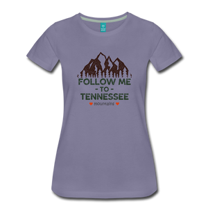 Women's Follow me to Tennessee T-Shirt - washed violet