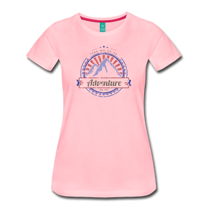 Women's Take me on an Adventure T-Shirt - pink