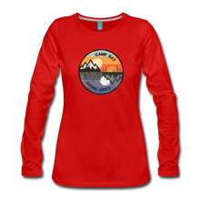 Load image into Gallery viewer, Women's Camp Day Long Sleeve Shirt - red