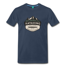 Load image into Gallery viewer, Men's Kayaking T-Shirt - navy