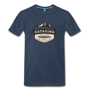 Men's Kayaking T-Shirt - navy