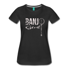 Load image into Gallery viewer, Women's Banjo Girl T-Shirt - black