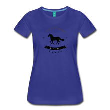 Load image into Gallery viewer, Women's Live to Ride T-Shirt - royal blue