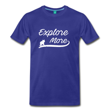 Load image into Gallery viewer, Men's Explore More T-Shirt - royal blue