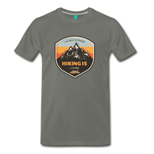 Load image into Gallery viewer, Men's Hiking T-Shirt - asphalt