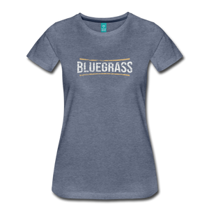 Women's Bluegrass T-Shirt - heather blue