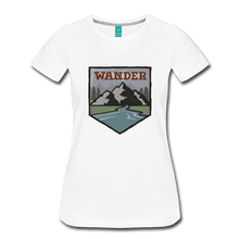 Load image into Gallery viewer, Women's Wander T-Shirt - white