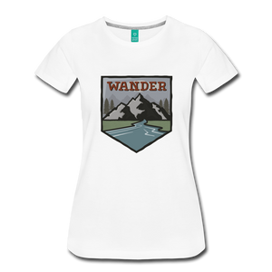 Women's Wander T-Shirt - white