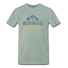 Load image into Gallery viewer, Men's Bluegrass Mountains Speak T-Shirt - steel green