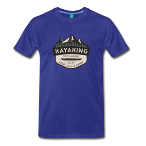 Men's Kayaking T-Shirt - royal blue