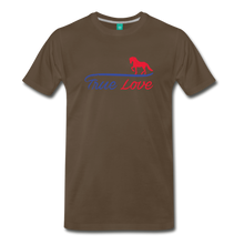 Load image into Gallery viewer, Men's True Love T-Shirt - noble brown