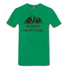 Load image into Gallery viewer, Men's Georgia on my Mind T-Shirt - kelly green