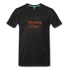 Men's Mountain Calling T-Shirt - black