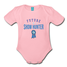 Load image into Gallery viewer, Future Shown Hunter Baby Bodysuit - light pink