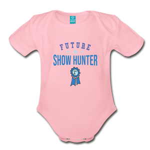 Future Shown Hunter Baby Bodysuit - light pink