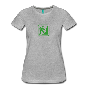 Women's Climb Icon T-Shirt - heather gray